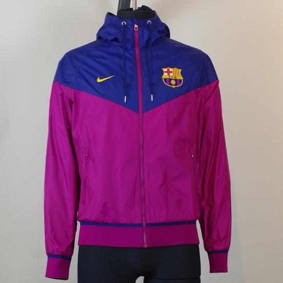 Precursor claramente Incontable  Nike Jackets & Coats | Fc Barcelona Authentic Windrunner Jacket | Poshmark